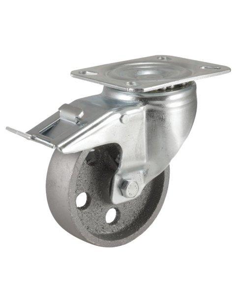 Колёсная опора KAMA 3302-DDB-080-F18-HT с тормозом